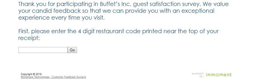 Buffet Cares Survey