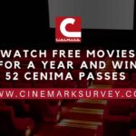 Cinemark® Guest Experience Survey @ Cinemarksurvey.com – Win Year of Movies