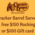 Crackerbarrel-survey.com: Cracker Barrel Survey to Win $100 Gift card