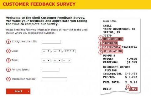 shell survey guide