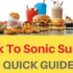 Sonic Drive-In Survey At www.TalkToSonic.com – Win Route 44 Code