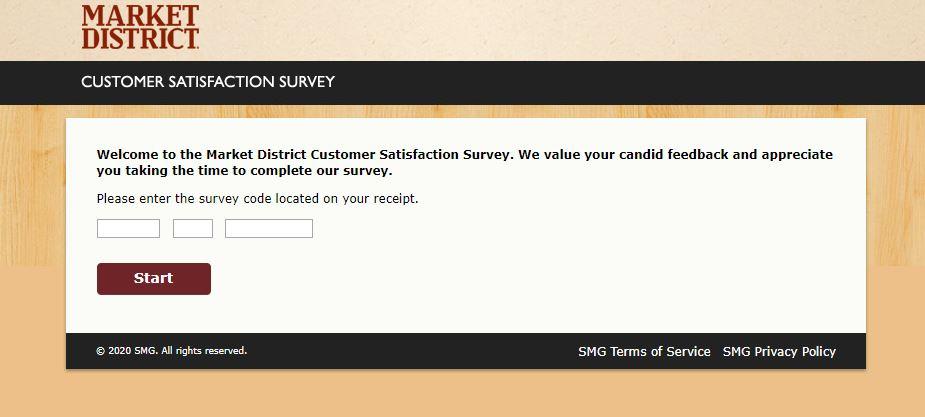 Market District Survey