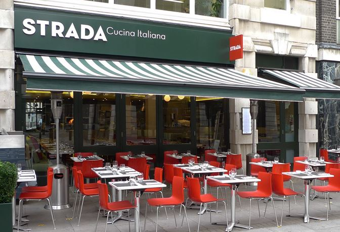Strada Restaurant Survey
