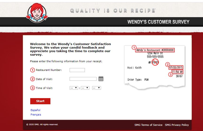 Talk To Wendys Survey