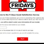 TalkToFridays — Take TGI Fridays Survey — Win a Coupon