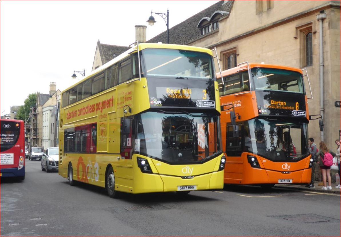 Oxford Bus Customer Opinion Survey