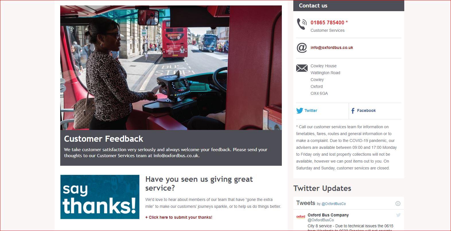 www.Oxfordbus.co.uk/feedback