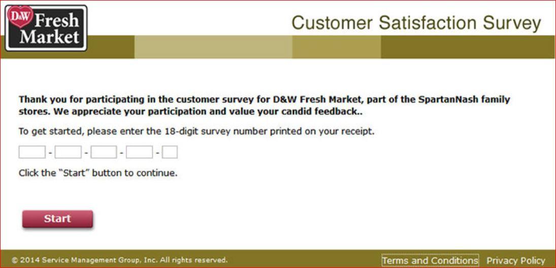 www.dwfreshmarketsurvey.com