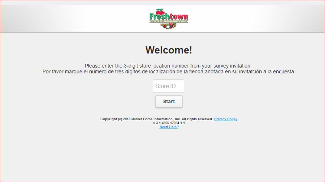 www.freshtownfeedback.com