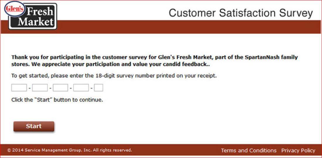 www.Glensfreshmarketsurvey.com