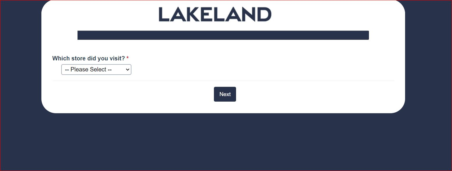 Lakeland Guest Experience Survey