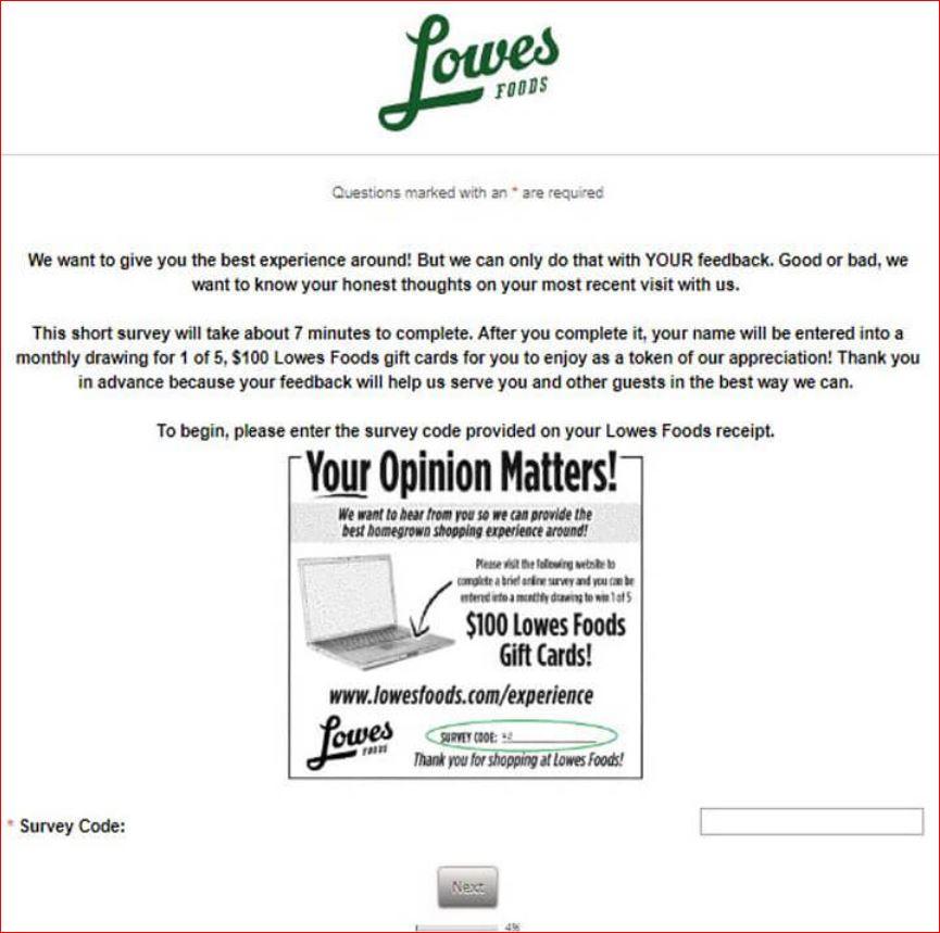 www.lowesfoodslistens.com