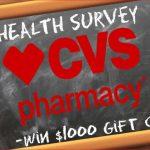 www.cvssurvey.com ― Take CVS® Survey ― Win $1,000