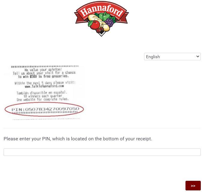 Hannaford Customer Survey