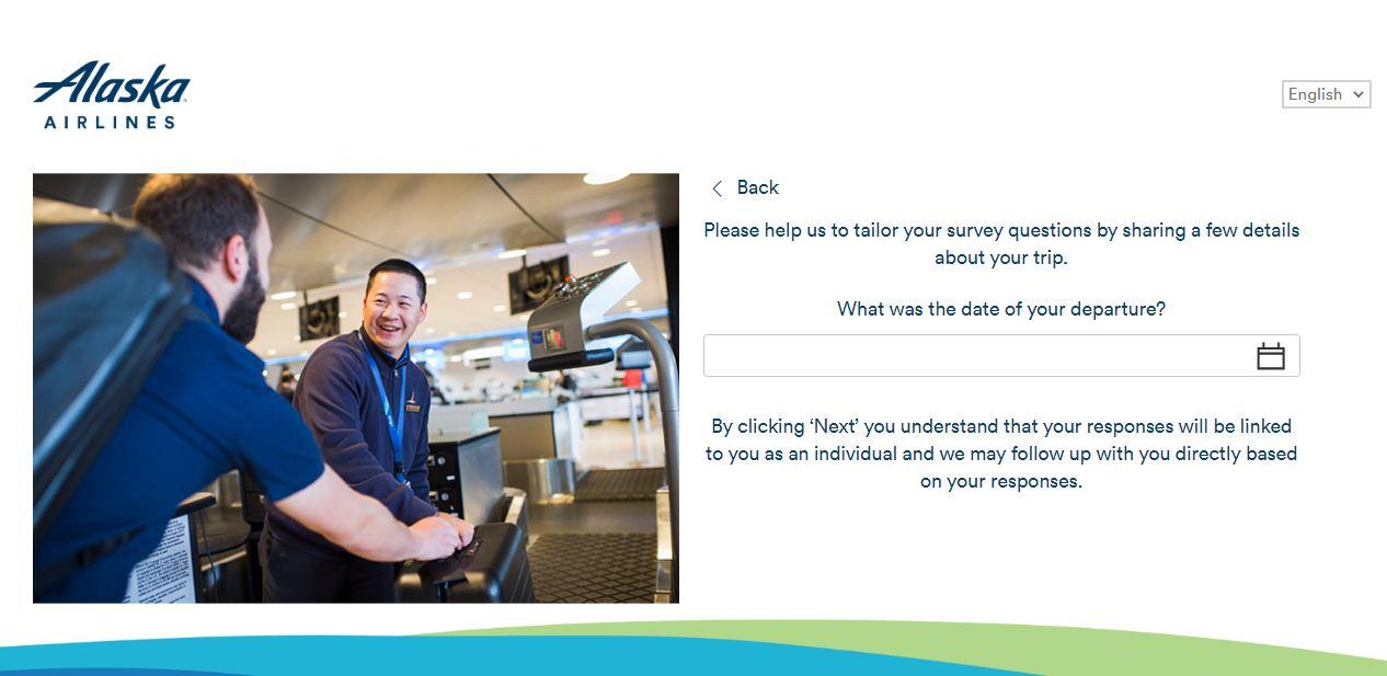 Alaska Airlines Customer Experience Survey
