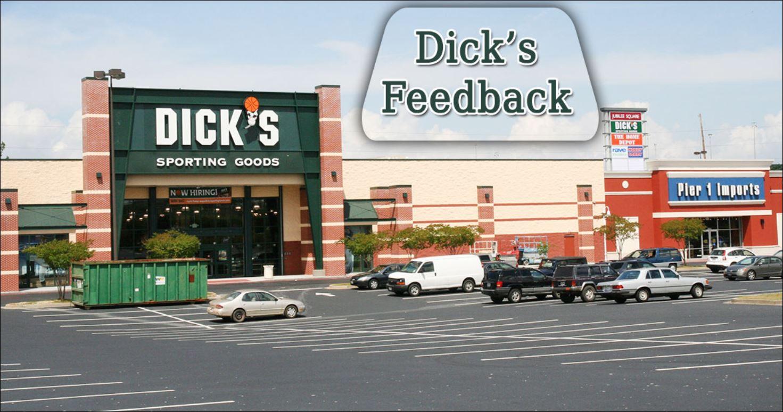Dicks.Com/Feedback