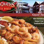 www.mfhsurvey.com – McGrath's Fish House Guest Satisfaction Survey