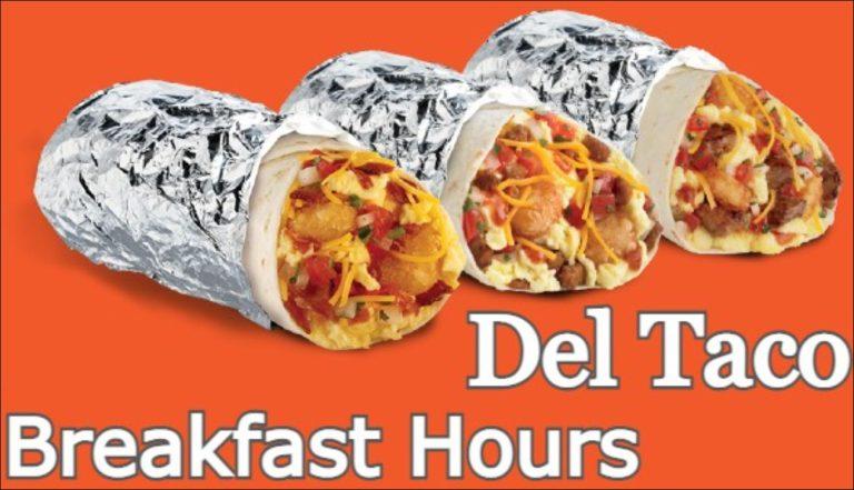 Del Taco Breakfast Hours