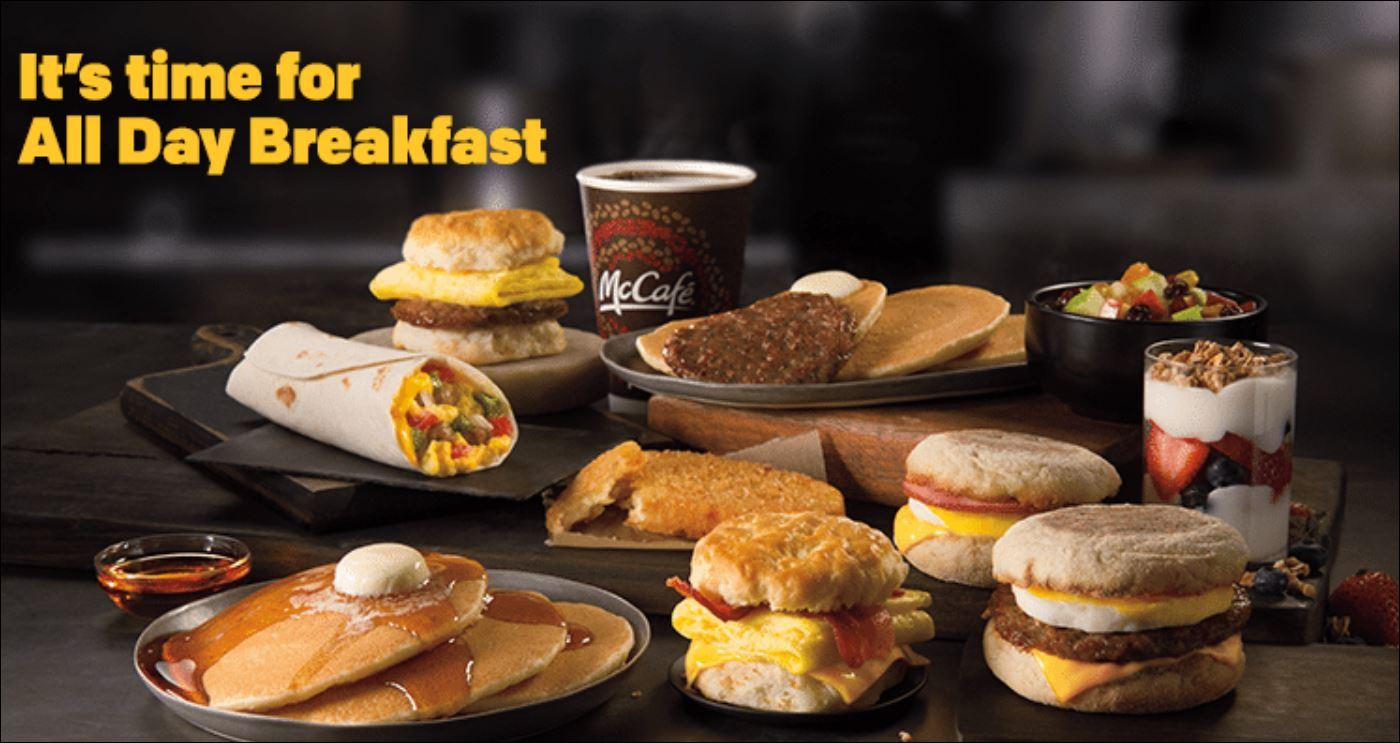 McDonald's Breakfast Time