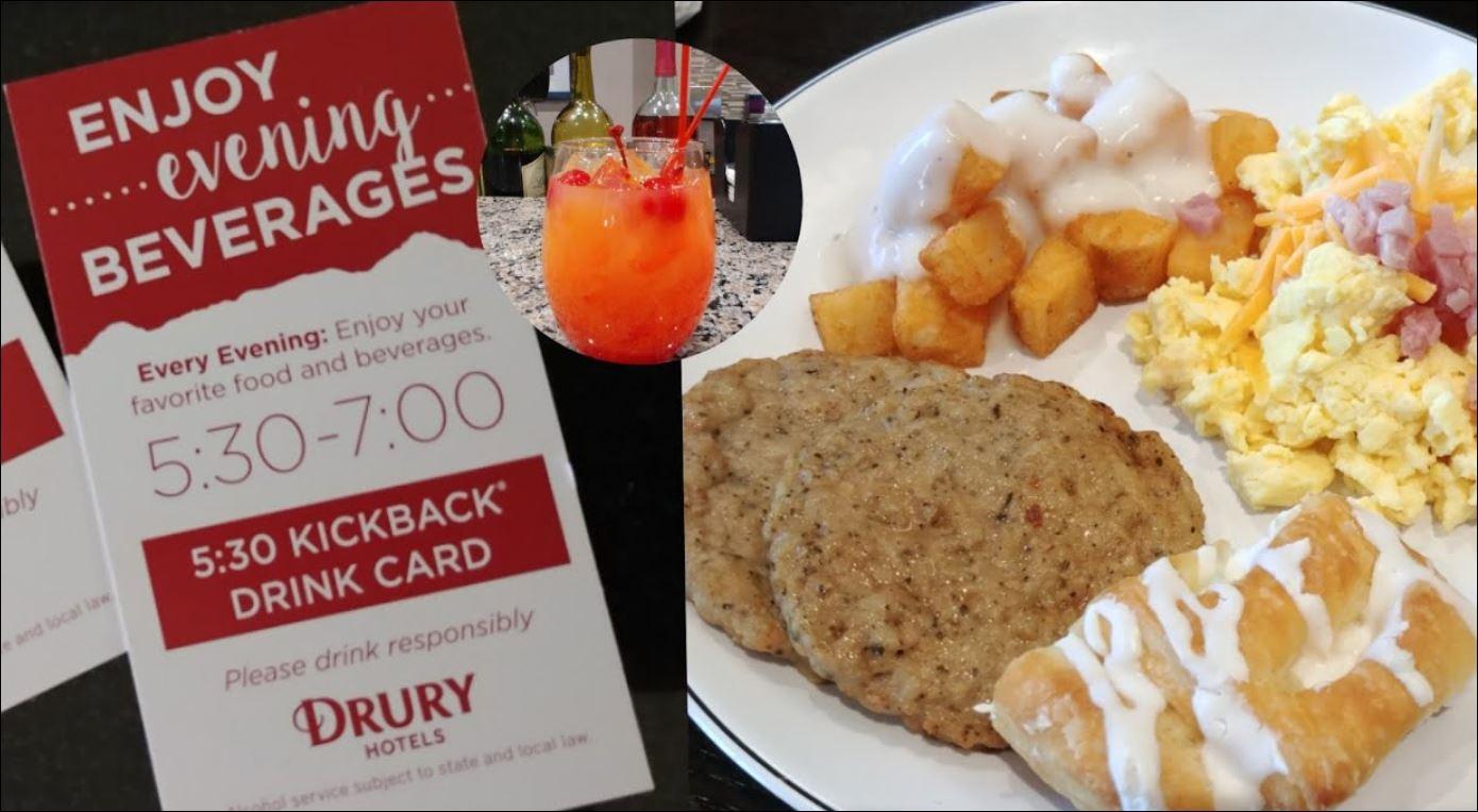 Drury Inn Breakfast Hours 2021