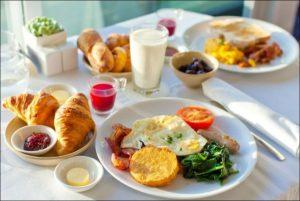 Hampton Inn Breakfast Times