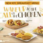 KFC Breakfast Hours & Menu Prices 2021