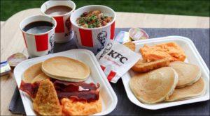KFC Breakfast Menu Prices