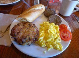 LA Madeleine Breakfast Menu