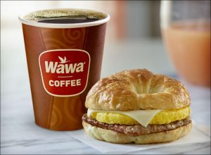 Wawa breakfast time